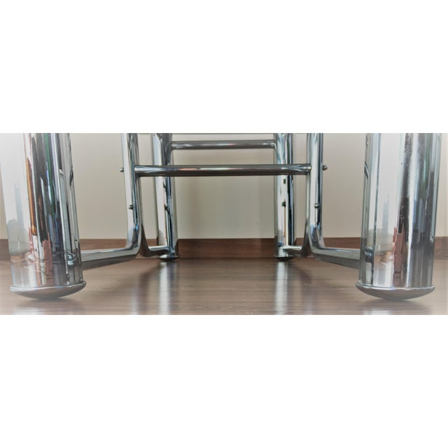 Mid-Century Modern Chrome Coffee Table - Image 11 of 11