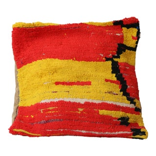 Moroccan Bohemian Vintage Pillow Cover For Sale