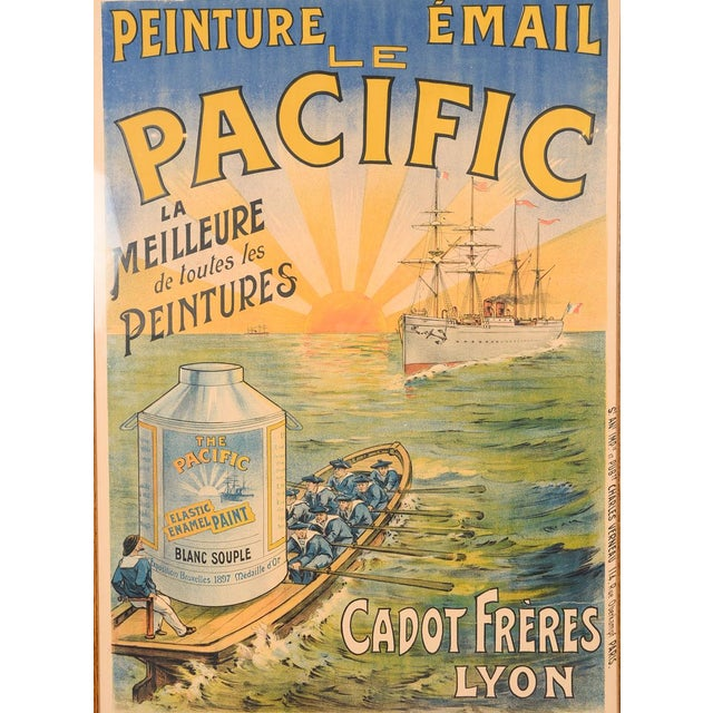 Traditional Le Pacific Enamel Paint French Poster - Image 3 of 10