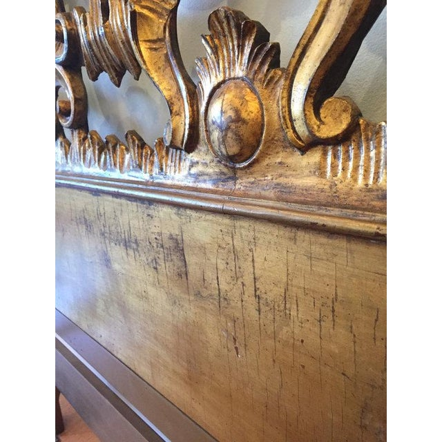 Florentine Gilded Rococo Headboard - Image 6 of 7