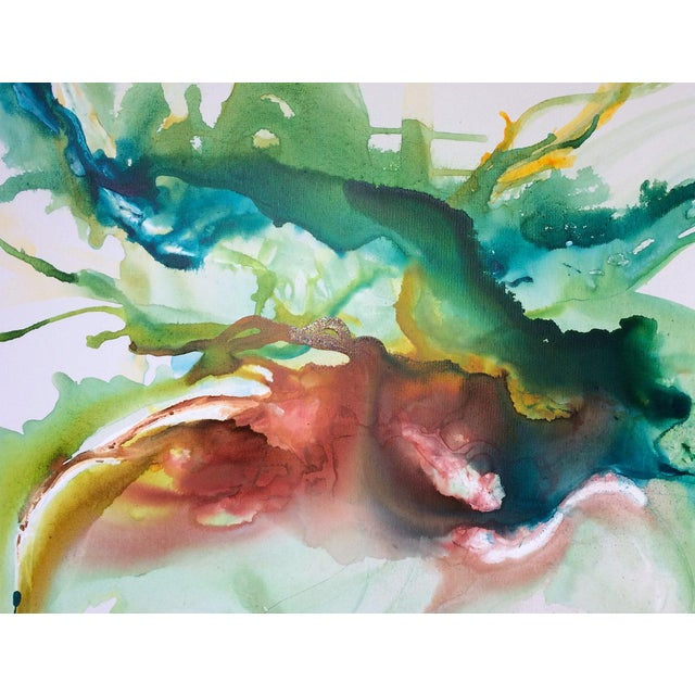 Hustle & Flow Original Abstract Painting - Image 6 of 6