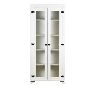 French Country White Pinewood Sienna Bookcase