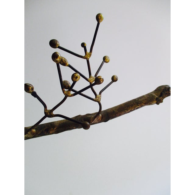 """""""Owl on Branch,"""" Early Sculpture by Curtis Jere - Image 7 of 11"""