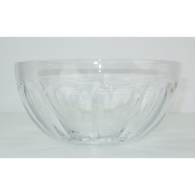 Gold Baccarat Crystal Caviar Serving Bowls Set With Box For Sale - Image 8 of 13