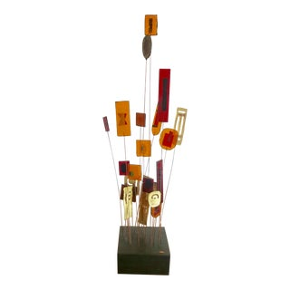 Abstract Kinetic Sculpture by Curtis Jere For Sale