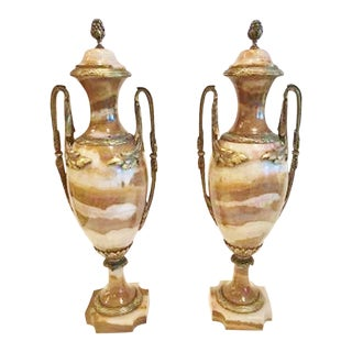 French Louis XVI Style Cassolettes - A Pair For Sale