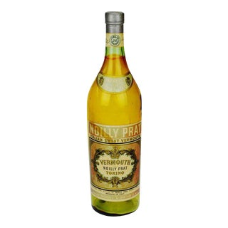 Italian Noilly Pratt Sweet Vermouth Display Bottle