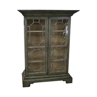 Colonial Williamsburg Architectural Curio Cabinet