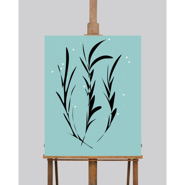 Contemporary Ocean Seaweed Limited Edition Canvas Prints - Set of 3 For Sale - Image 3 of 5