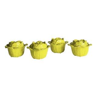 Rosenthal Netter Lidded Soup Bowls - Set of 4 For Sale