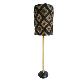 Kuba Cloth Floor Lamp For Sale