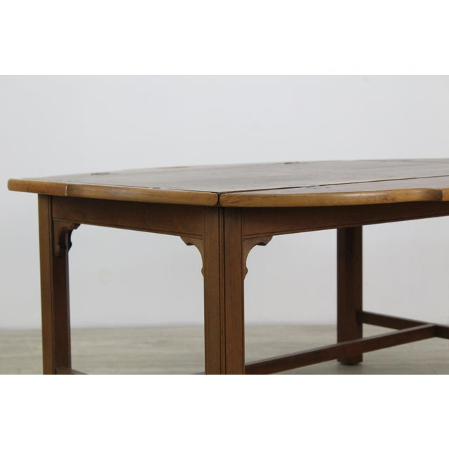 Brown Mid-Century Walnut Tray Table For Sale - Image 8 of 12