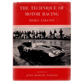 "1971 ""The Technique of Motor Racing"" Collectible Book For Sale"