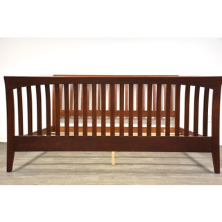 Ethan Allen American Impressions King Cherry Bed Mid Century Modern Preview