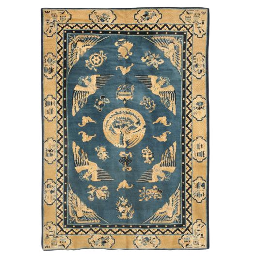 Antique Chinese Rug For Sale