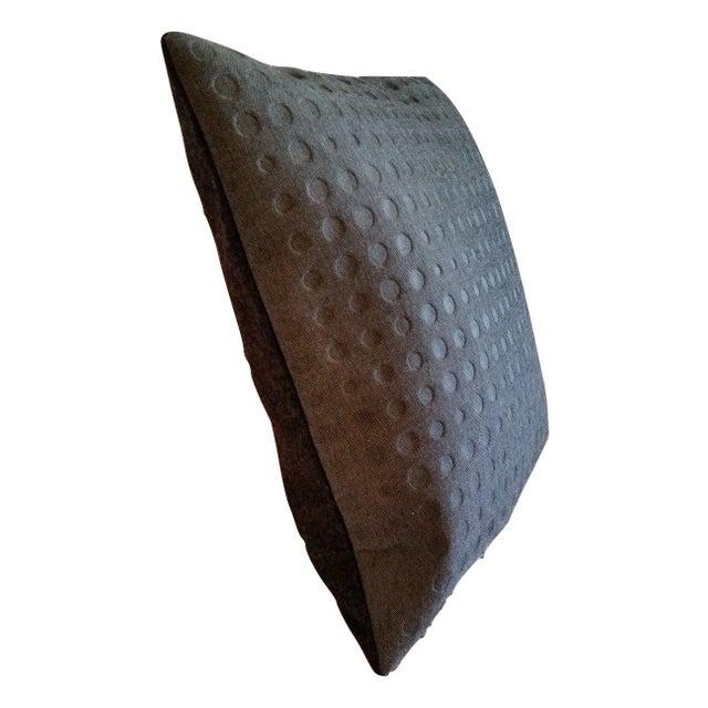 Maharam Kvadrat Highfield & Gray Divina Wool Pillow Cover - Image 2 of 2