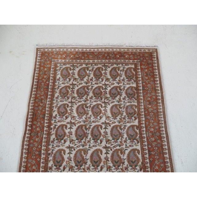 Islamic 1960s Vintage Persian Area Rug - 2′11″ × 5′7″ For Sale - Image 3 of 13