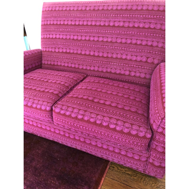 Donghia St. James Loveseat For Sale - Image 11 of 13