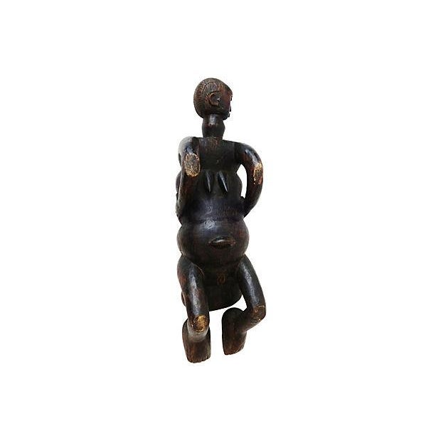 African Figural Mancala Game Board For Sale - Image 4 of 7