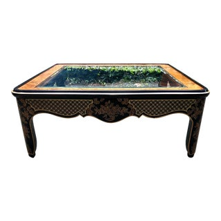 1980s Chinoiserie Drexel Coffee Table For Sale