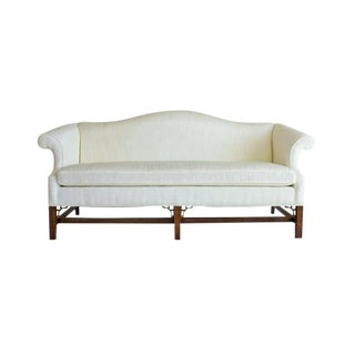 1960s Vintage Chippendale Sofa For Sale