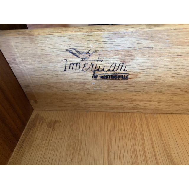 American of Martinsville Credenza For Sale - Image 9 of 10