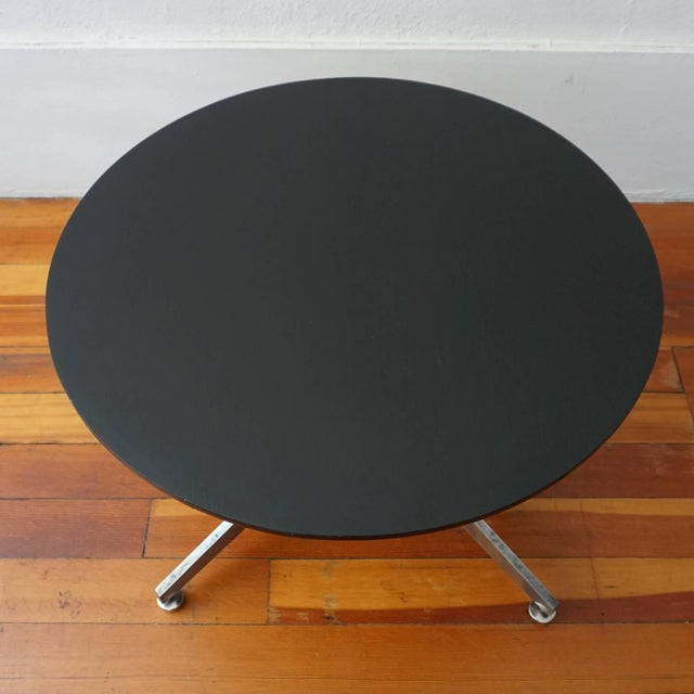 Ward Bennett Column X Table for Lehigh Furniture Company For Sale In San Diego - Image 6 of 7