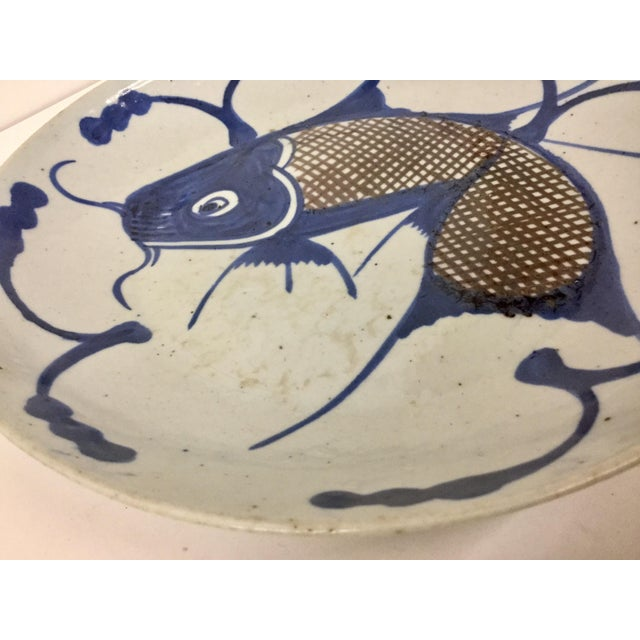 1800's Japanese Porcelain Fish Decorated Bowl For Sale In Boston - Image 6 of 13