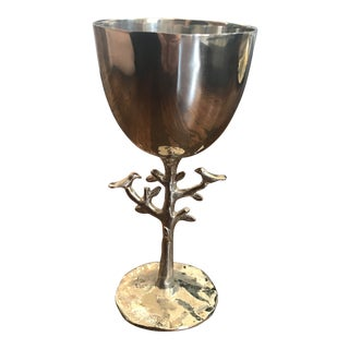 Michael Aram Atkinsons of Vancouver Tree of Life Kiddushcup For Sale