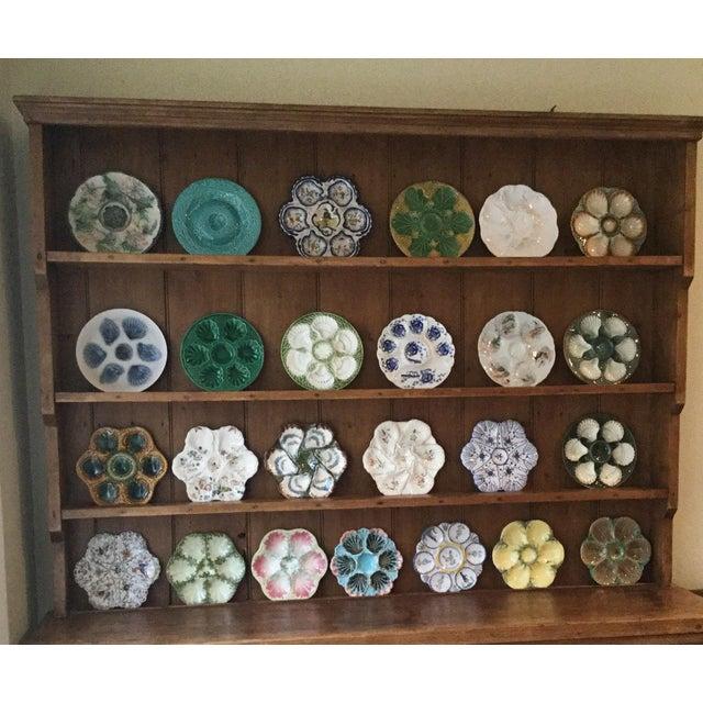 Ceramic Majolica Oyster Plate Sarreguemines, Circa 1880 For Sale - Image 7 of 9