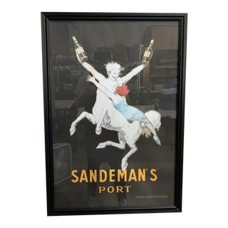 Sandeman's Port Jean D'Ylen Centaur Print For Sale