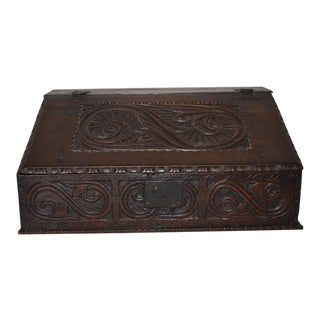 18th Century English Bible Box For Sale