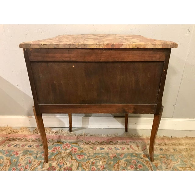 Louis XVI Style Side Table For Sale - Image 4 of 8