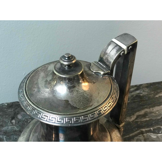 1920s Four-Piece Gorham Silver-Plated Tea and Coffee Set From the 1920s For Sale - Image 5 of 7