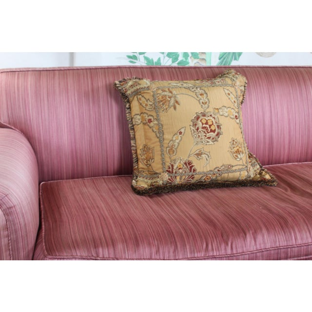 20th Century Italian Mediterranean Down Pillow For Sale - Image 4 of 9