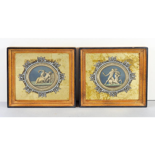Medallion Raphael Etchings - A Pair - Image 2 of 4