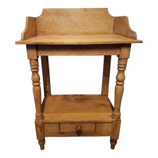 Antique Pine Wash Stand - Found in Devon England For Sale