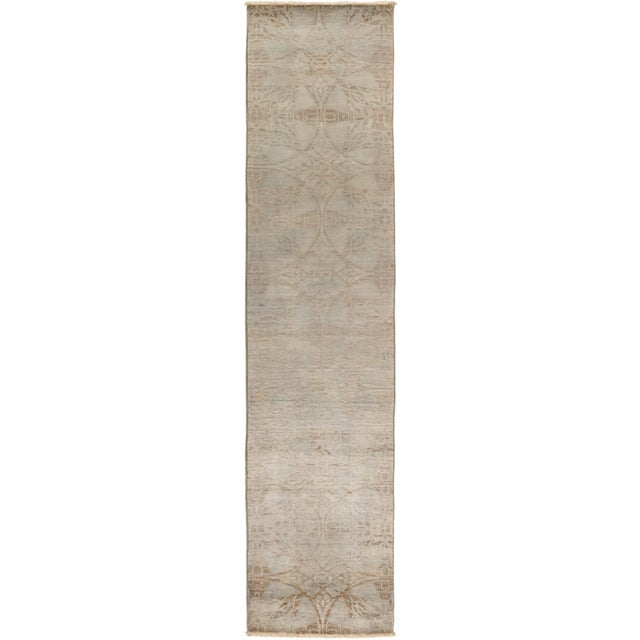 "Vibrance Hand Knotted Runner Rug - 2' 5"" X 11' 5"" - Image 4 of 4"