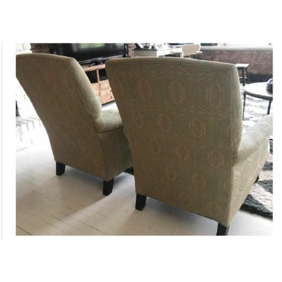2010s Modern Mitchell Gold+Bob Williams Rebecca Chairs - A Pair For Sale - Image 5 of 7