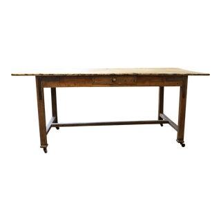 19th Century Rustic Draper's Table For Sale