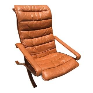 Mid Century Modern Westnofa Safari Chair For Sale