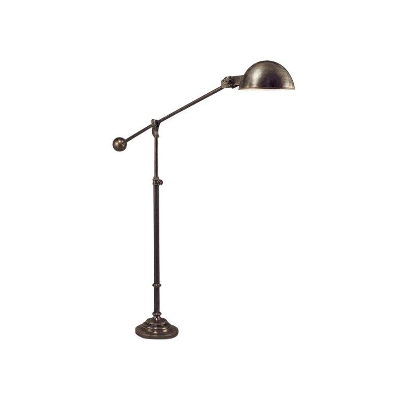 Boom Arm Floor Lamp Bronze Chairish, Boom Arm Floor Lamp