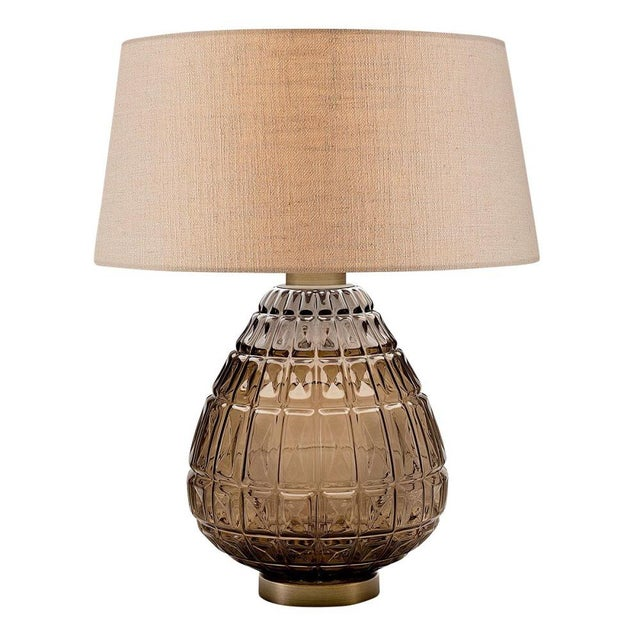 Mid-Century Modern Laguna Table Lamp in Mocca Colour For Sale - Image 3 of 3