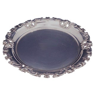Grande Baroque by Wallace Sterling Silver Bread and Butter Plate #4306 For Sale