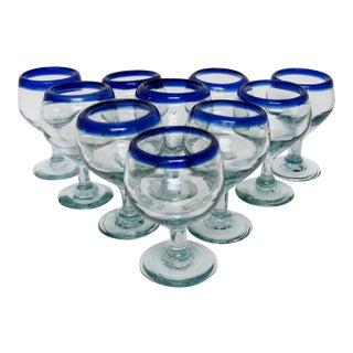 Stemmed Tequilla Glasses - Set of 10