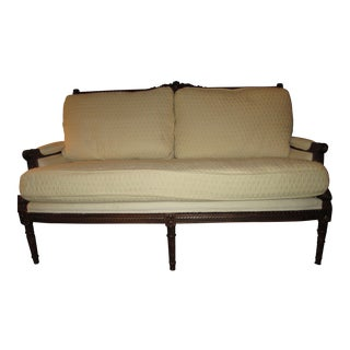 Henredon Upholstery Collection Settee For Sale