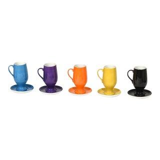 1960s Vintage La Gardo for Schmid Tackett Espresso / Demitasse Cups - 10 Pieces For Sale