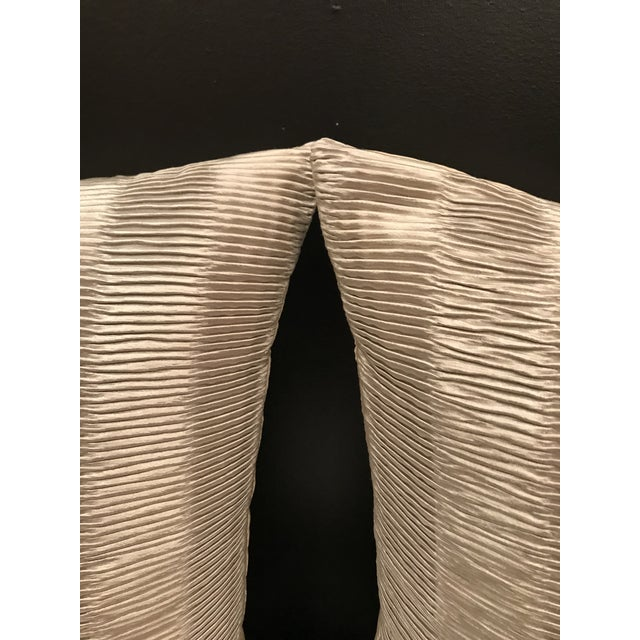 Beautiful modern Metallic Pleat from Kravet Couture collection in Platinum make a dynamic statement to your room. The...