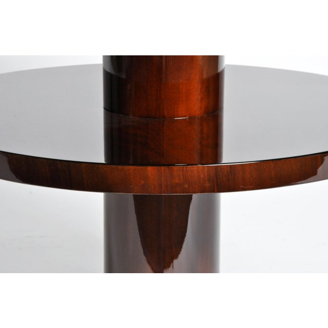 Art Deco Style Round Table For Sale - Image 10 of 11