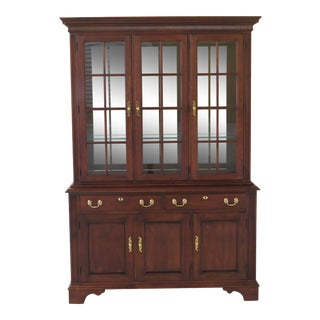 Statton Centennial Cherry China Cabinet For Sale